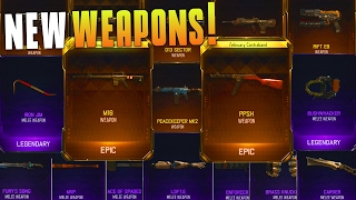 I GOT THE PPSH, M16, AND 16 OTHER WEAPONS! (BO3 Supply Drop Opening) All New Items! - MatMicMar