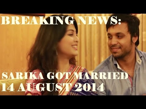 Breaking: Model Actress Sarika Got Married + Video 14 August 2014 video