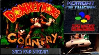 Retro Gaming Bytes - Shock testing - kicking it old school Donkey Kong Country RGB SNES Hardware