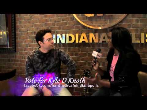 Interview with Hard Rock Rising 2012 Indianapolis Kyle D Knoth.  Voting ends April 24