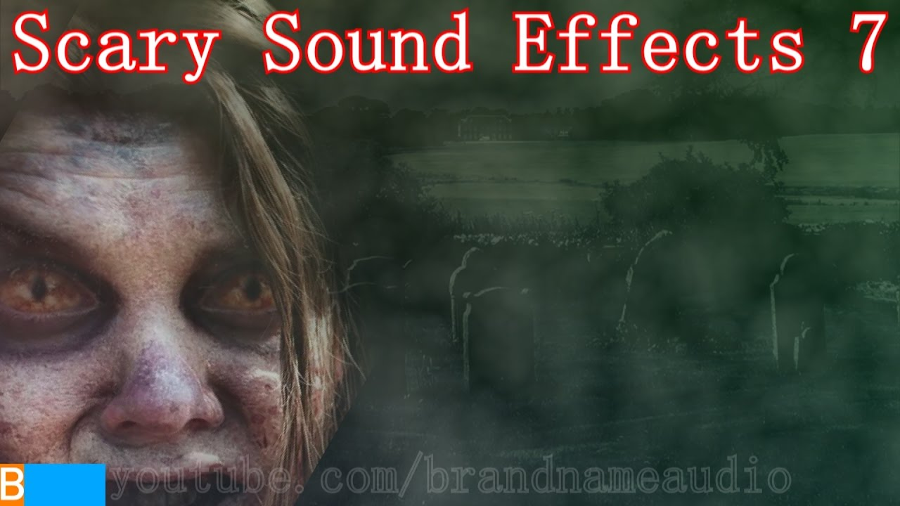 Horror movie sound effect