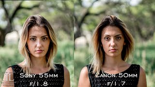 Native vs. Adapted Lens Battle!  Canon 50mm vs. Sony Zeiss 55mm on the Sony A7Rii by Jason Lanier