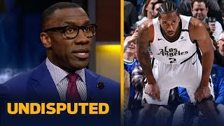 Shannon Sharpe reacts to Kawhi and Luka both dropping 36 points in Clippers win | NBA | UNDISPUTED