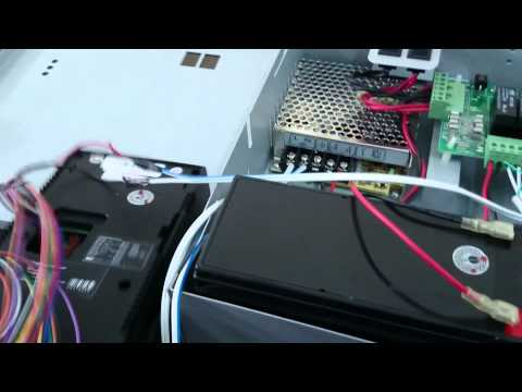 Door Access Control System - Part 2: Installing Exit Button & The First Run of The System