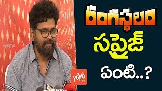 Sukumar about Rangasthalam Movie | Rangasthalam Movie Press Meet | Ram Charan | Samantha