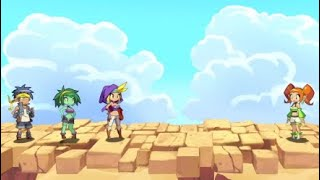 Shantae: Friends to the End - All Bosses with Cutscenes