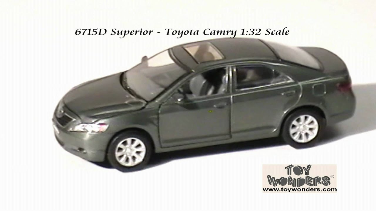 6715d superior toyota camry 132 diecast wholesale mpg youtube