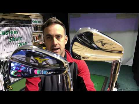 Battle Of The Blades - Mizuno MP-4 v Mizuno MP-5 Forged Blade Irons Head To Head