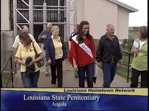 Miss Louisiana 2012 Tours LSP-Angola