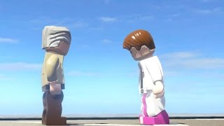 STAN LEE VS CURT CONNORS (BATTLE) - LEGO Marvel Super heroes