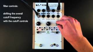 KOMA Elektronik FT201 Filter / Sequencer Tutorial - the Main Features Explained