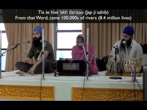 Japji Sahib English Katha #1: Mool Mantar / Love