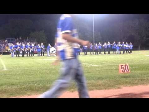 Louise High School Blue Crew Band 10/19/12 part3
