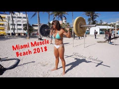 Miami Muscle Beach Bikini Workout Motivation