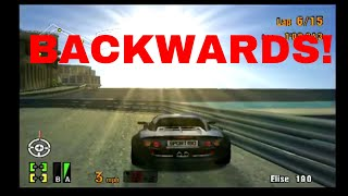 Gran Turismo 3 EPIC RACE! Funny Glitch with the Lotus Elise on the Spider and Roadster Race!