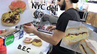 NYC most POPULAR deli Food!   Yousif Saleh