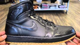 Air Jordan 1 Black / Gum Review