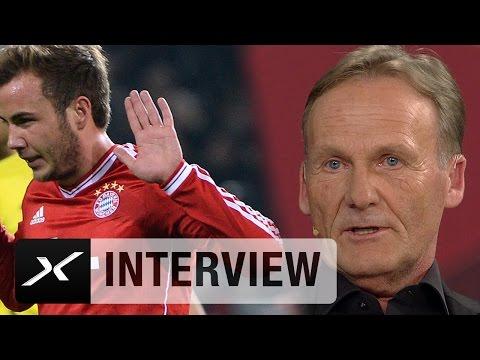 """Hans-Joachim Watzke: """"Mario Götzes zweite Chance möglich""""   Borussia Dortmund - FC Bayern München"""