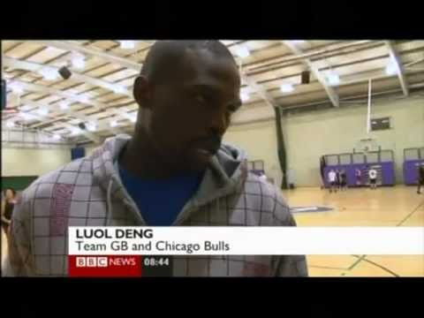 London Olympic 2012: Basketball - Luol Deng