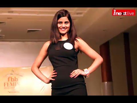 Girls competed during Femina Miss India 2015 auditions in Dehradun