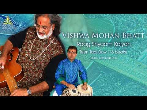 Pandit Vishwa Mohan Bhatt   Raag Shyaam Kalyan (Teen Taal Slow)   Live At Saptak Festival