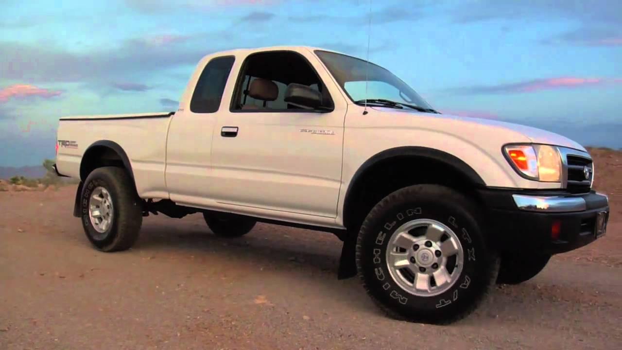White Toyota Tacoma >> 1999 Toyota Tacoma Pre-Runner Test Drive YouTube.mov - YouTube