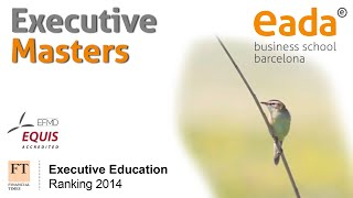 Executive Education Masters - EADA Business School