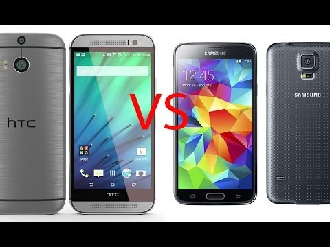 HTC One M8 vs Samsung Galaxy S5. comparativa (Español)