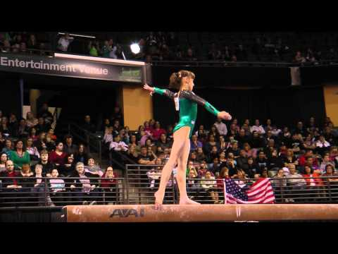 Maria Kharenkova - Balance Beam Finals - 2012 Kellogg&#039;s Pacific Rim Championships - 3rd