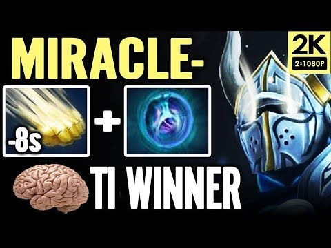 TI7 champ Miracle Sven Pub Match Unstoppable Dota 2