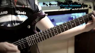 Circus Maximus Namaste guitar cover