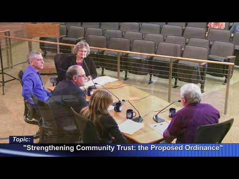 view CrossCurrents - Strengthening Community Trust Ordinance video