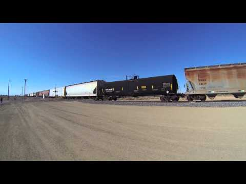 Union Pacific Trains on the Sunset Route (Glamis, CA and Niland, CA)
