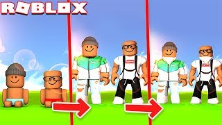 LIFE SIMULATOR IN ROBLOX! (Grow Old & Die)