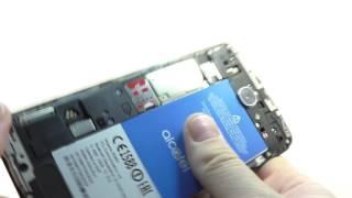 Видео обзор смартфона Alcatel OT 5095K POP 4S 16 Гб черный