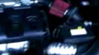 2009 hyundai accent no muffler and a ghetto intake setup