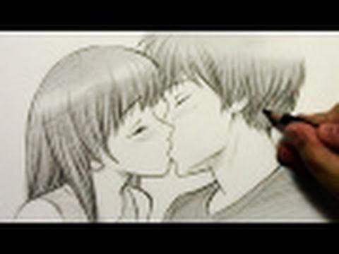 How to Draw People Kissing [HTD video #2]
