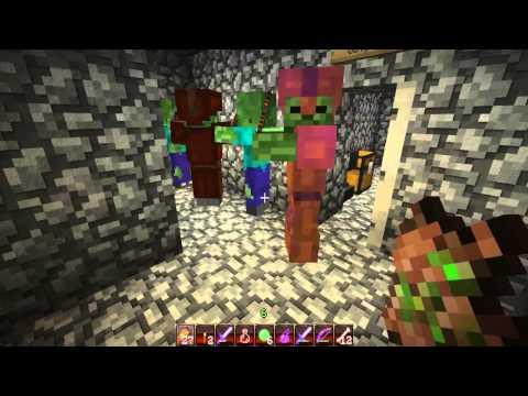 Minecraft:Прохождение карты Испытания на Кате