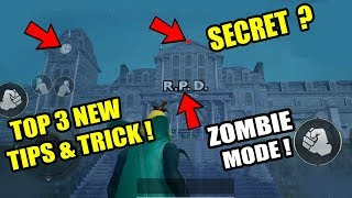 TOP 3 NEW TIPS AND TRICK IN ZOMBIE MODE ! Only 0.1% People Know This Tricks !