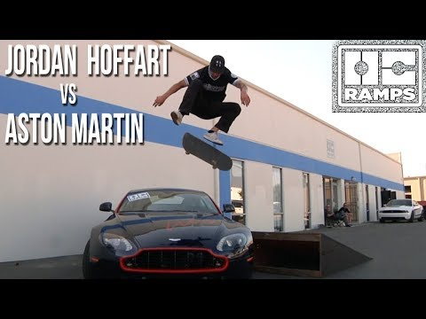Fronstide Flip over Aston Martin