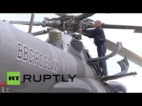 China: Russian Mi-8s ready for SCO anti-terror drills in Zhurihe