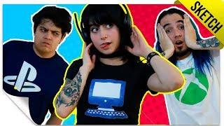 Si Las Consolas de Videojuegos Fueran Personas | SKETCH | QueParió!