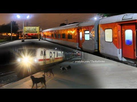 Dogs Barking at the Train (Diverted) RAJDHANI Express | Indian Railways thumbnail