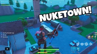 How to build NUKETOWN in Fortnite...