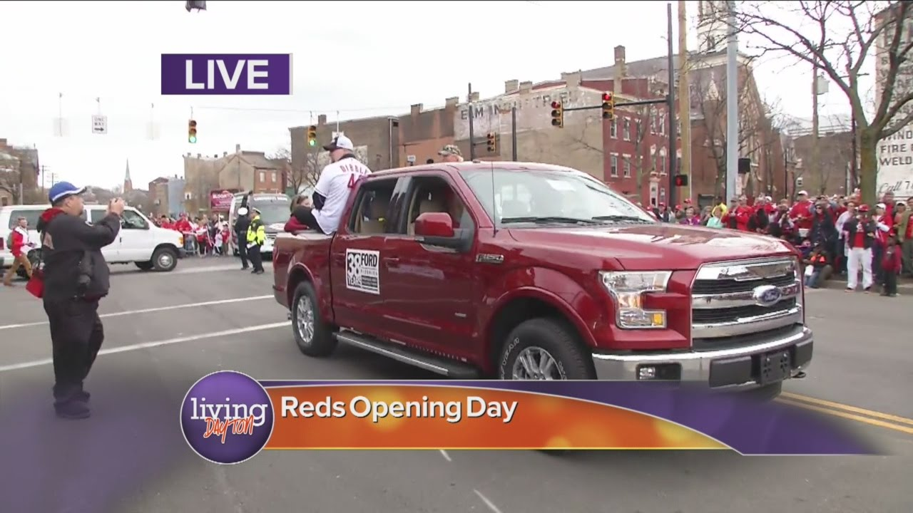 Red Opening Day Parade 2015 Reds Opening Day Parade 2015