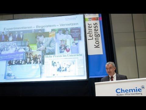 Lehrerkongress 2013 der chemischen Industrie: Bildungsthemen von Berufseinstieg bis Energiedidaktik