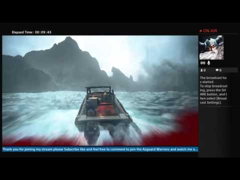 OdensWrath Broadcasts Uncharted 4