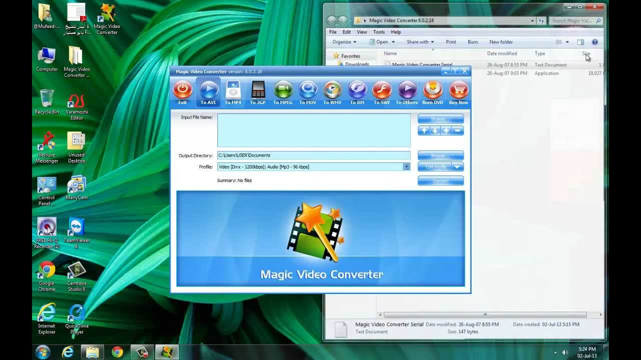 Total video converter serial key generator