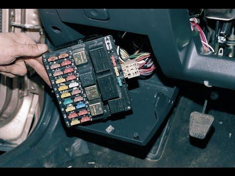 Блок предохранителей ВАЗ 2110: