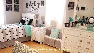 Awesome and Beautiful Girl Room Decorating Ideas - Nội Thất Fico - Thiết Kế & Thi Công